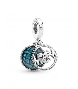 Charm Colgante Pandora Mamá Globo con Purpurina 799368C01