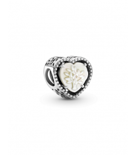 Charm Pandora Corazón en filigrana y Árbol De la Familia 799413C01