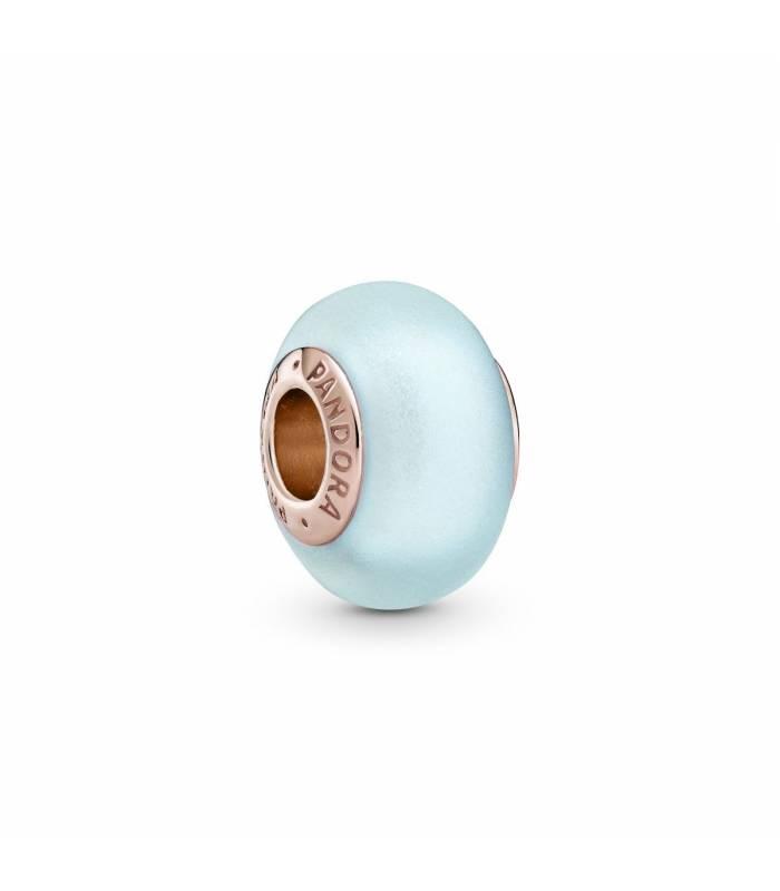 Charm Pandora rose cristal murano azul mate Pandora 789420C00