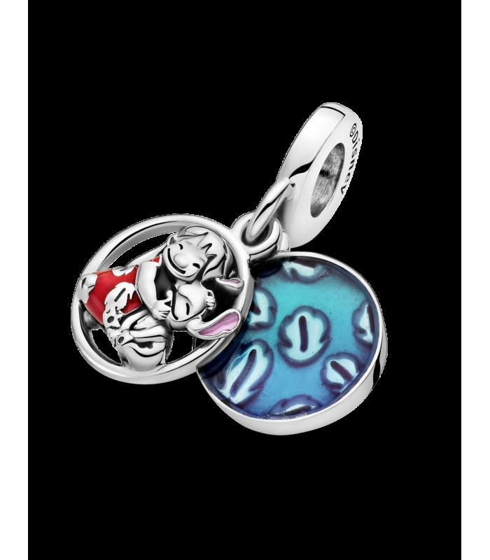 Charm Pandora Colgante plata Familia Lilo & Stitch Disney 799383C01