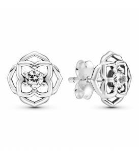 Pendientes Pandora plata Pétalos de Rosa 299371C01
