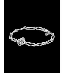 Pulsera Pandora plata Eslabones Pétalos de Rosa 599409C01
