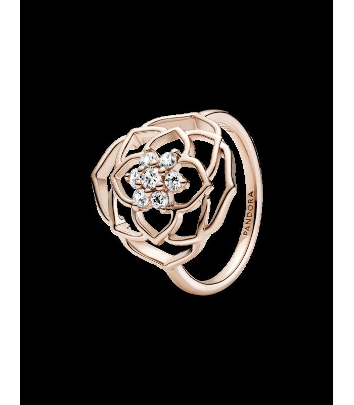 Anillo Pandora Rose Declaración Pétalos de Rosa 189412C01