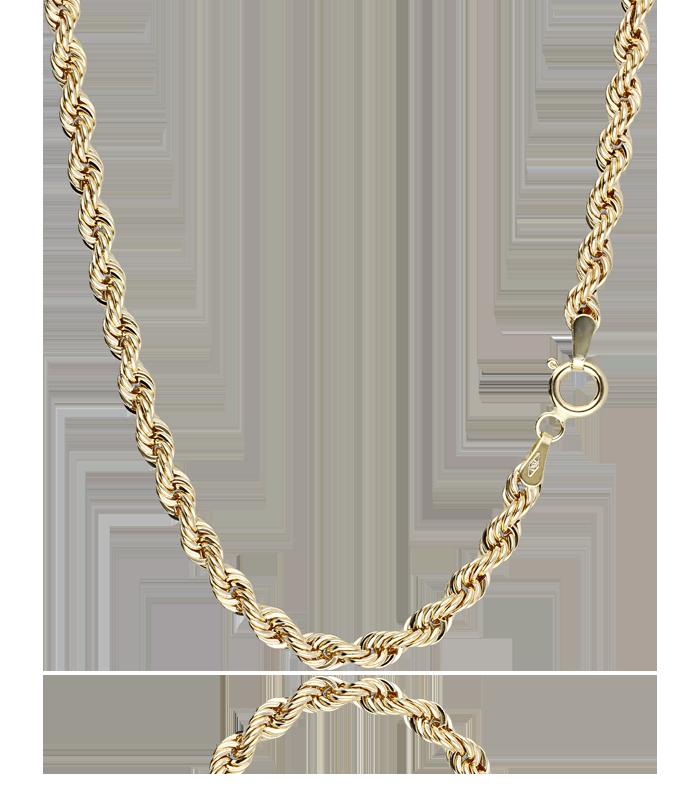 Cordón Salomónico Oro 18k 4mm