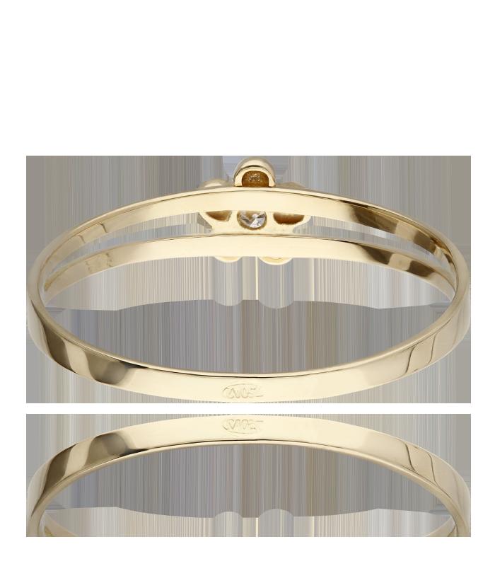 Conjunto Oro 18k perla y diamante