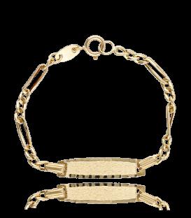 Esclava oro 18k de bebé Cartier