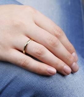 Alianza Oro 18k Amarillo 2.5 mm Wedding Classic