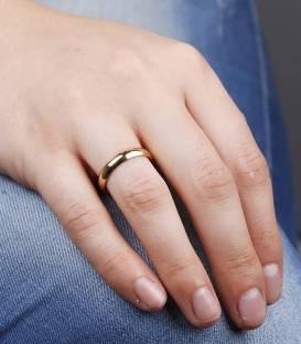 Alianza Oro 18k Amarillo 4 mm Wedding Classic