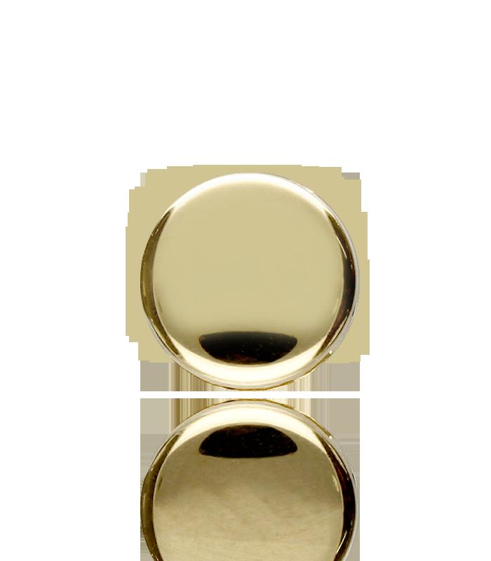 Colgante Chatón Oro y Circonita 4mm