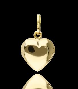 Colgante corazón oro 18k