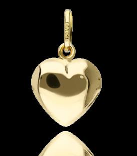 """Colgante """"Corazón mediano"""" Oro Amarillo 18k."""