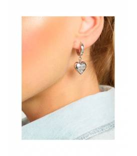 PENDIENTES GUESS IS FOR LOVERS CORAZÓN UBE70110