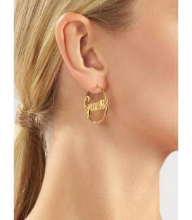 PENDIENTES AROS GUESS DREAM AND LOVE GOLD UBE70131