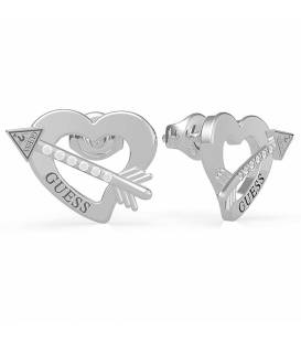 PENDIENTES GUESS ACROSS MY HEART UBE79121