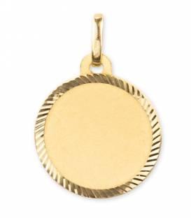 Medalla oro circular