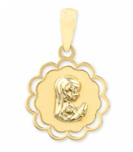 Medalla de La Virgen Niña