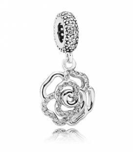 "Charm ""Rosa Brillante"" Pandora 791526CZ"