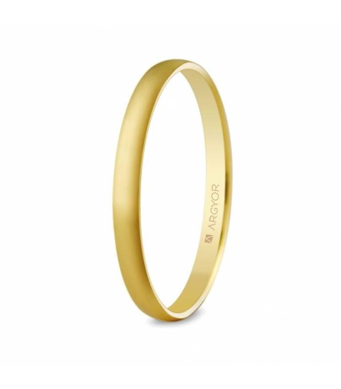 ALIANZA MOD. 50201. Alianza de boda 2mm oro (50201)