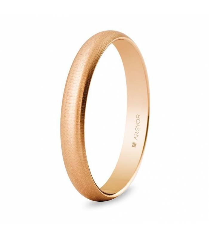 Alianza de boda oro rosa 5C305T