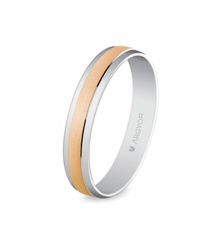 Alianza oro rosa 5C40044