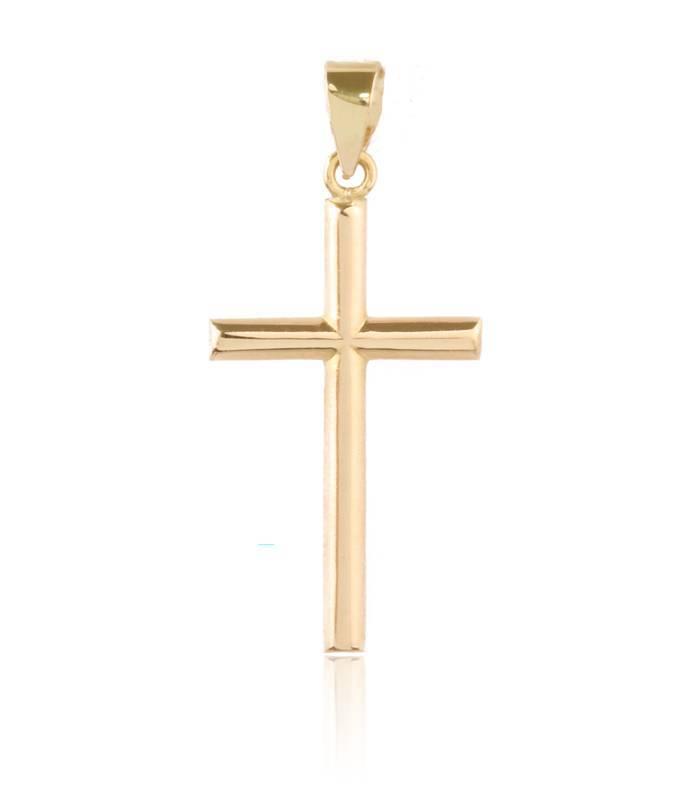 Colgante Cruz de Oro 18k