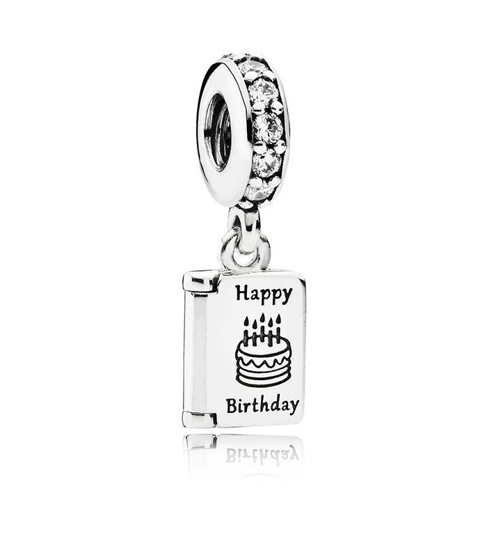 Charm colgante Cumpleaños Feliz 791723CZ