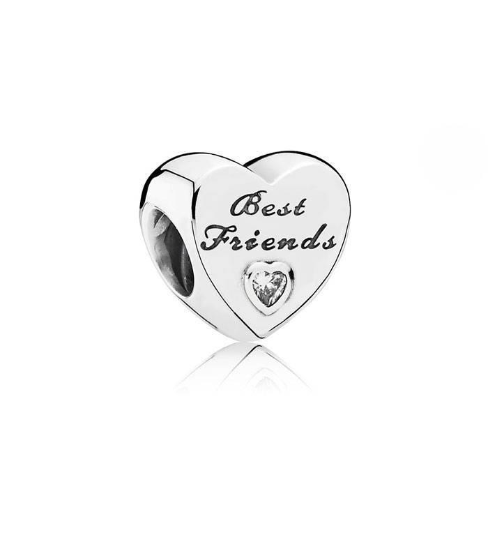 Charm Corazón de Amistad 791727CZ