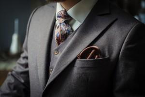Traje corbata