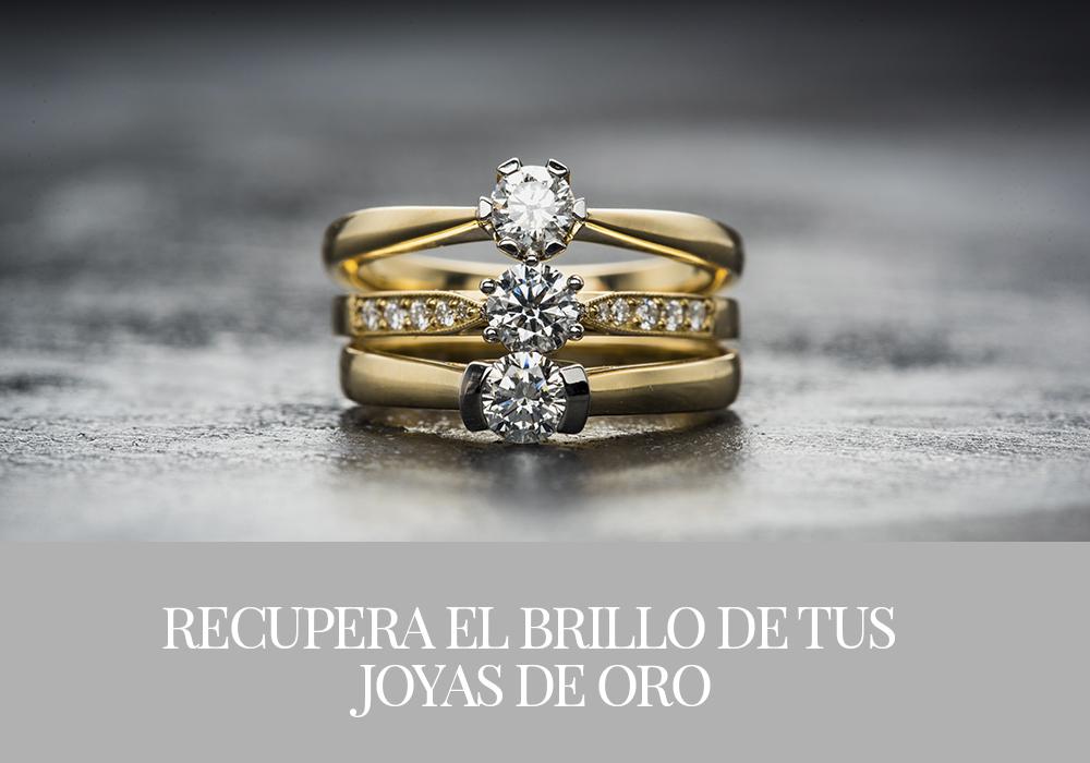 Recupera el brillo de tus joyas de oro