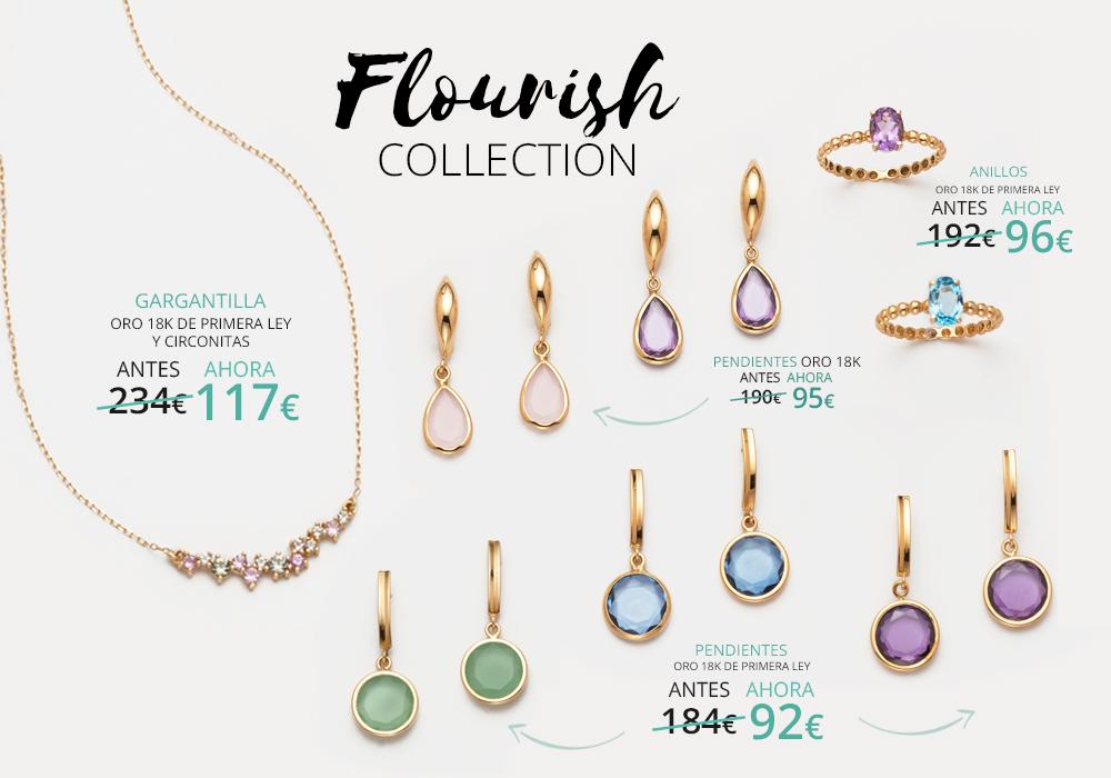 Nueva colección Flourish Joyerías Sánchez